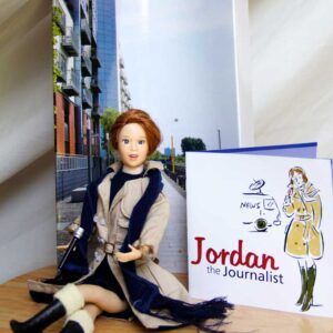 journalist doll gift