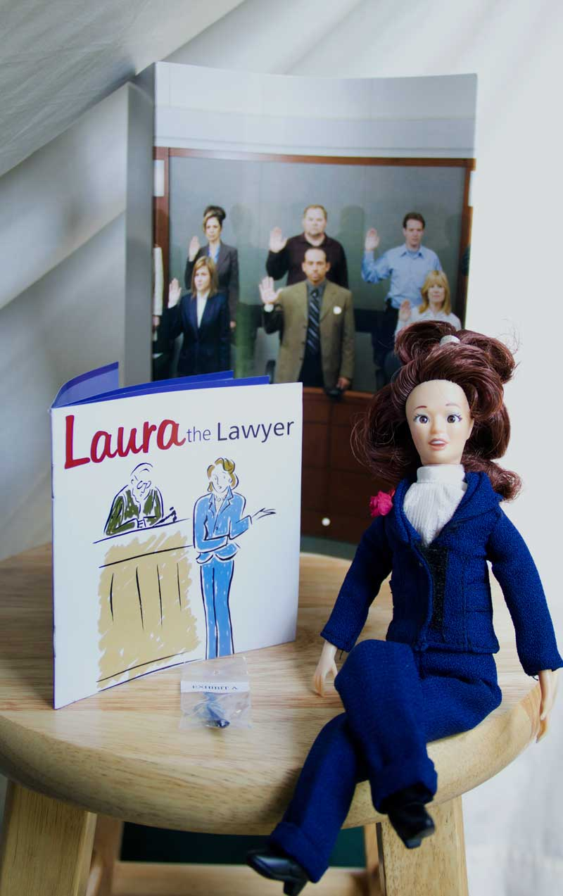 lawyer doll gift