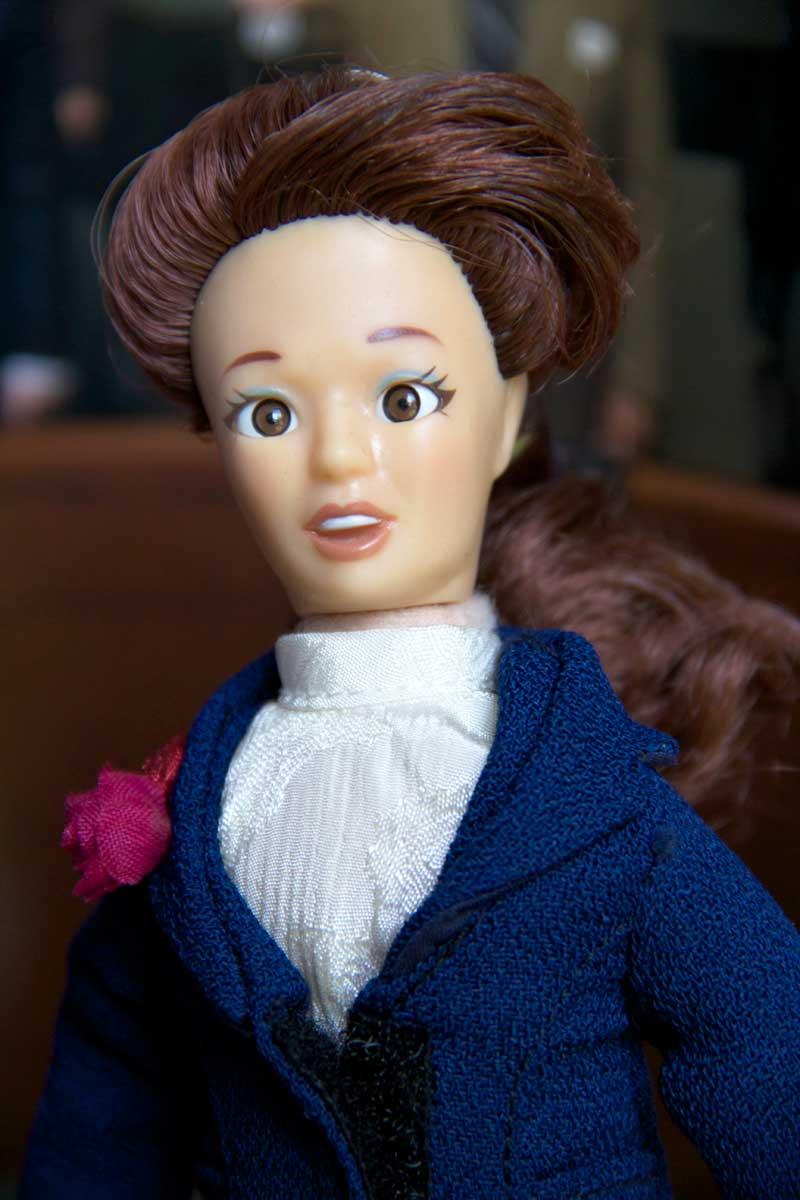 lawyer doll