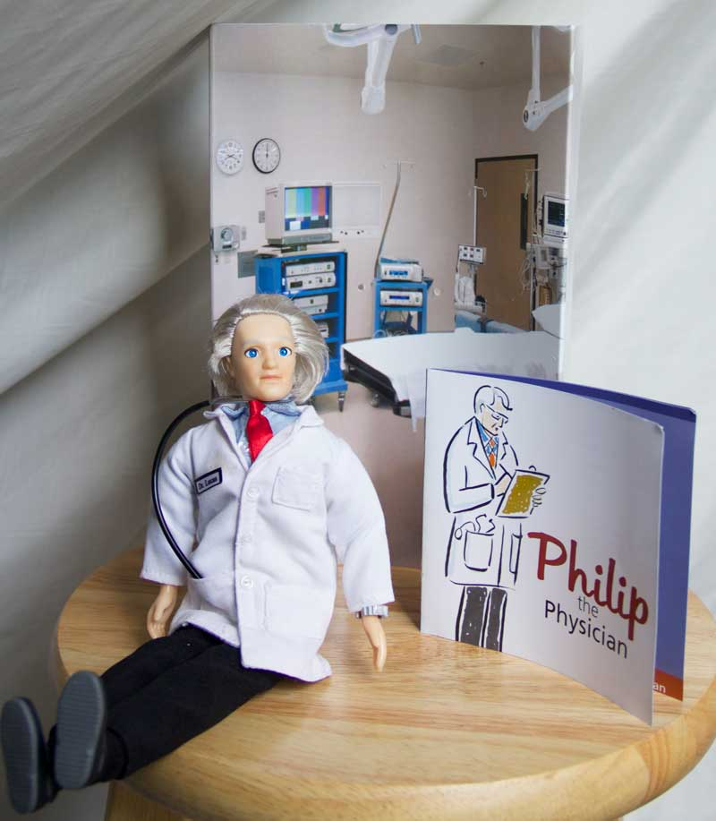doctor doll gift