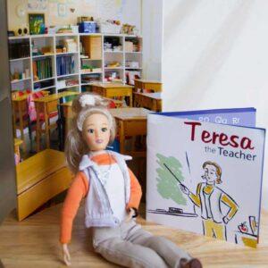 teacher gift doll