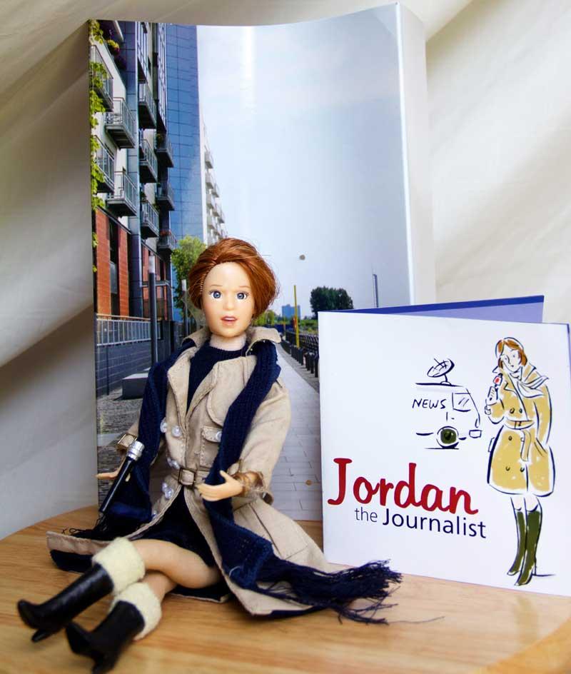 journalist doll gift
