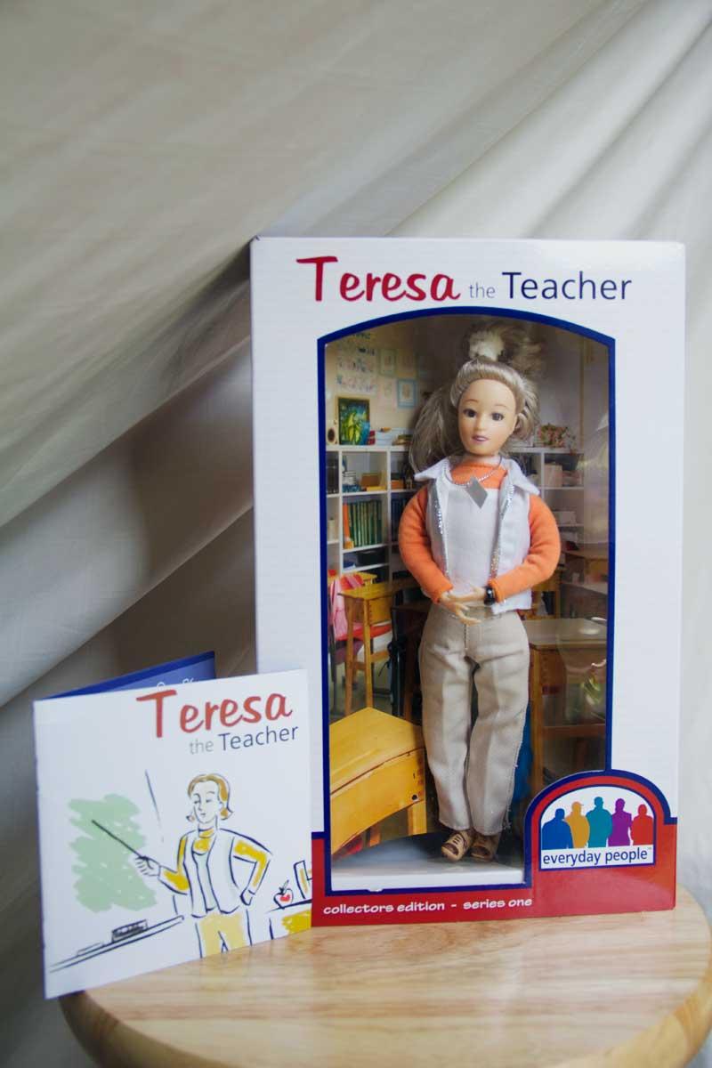 doll teacher gift